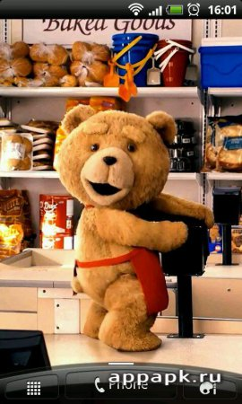 Ted live wallpapers живые обои Ted