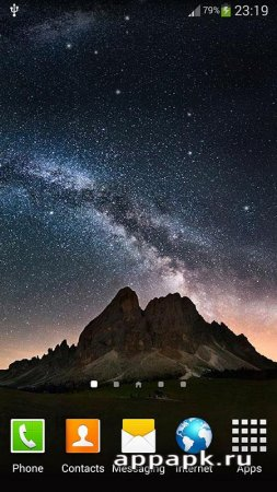 Night Sky Live Wallpaper андроид