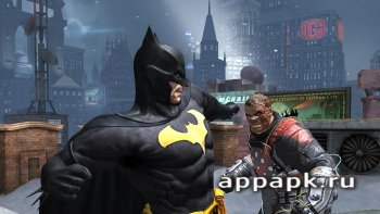 Batman: Arkham Origins взломанный
